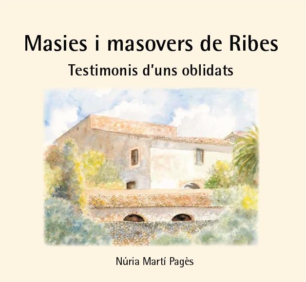 Coberta del llibre de Núria Martí
